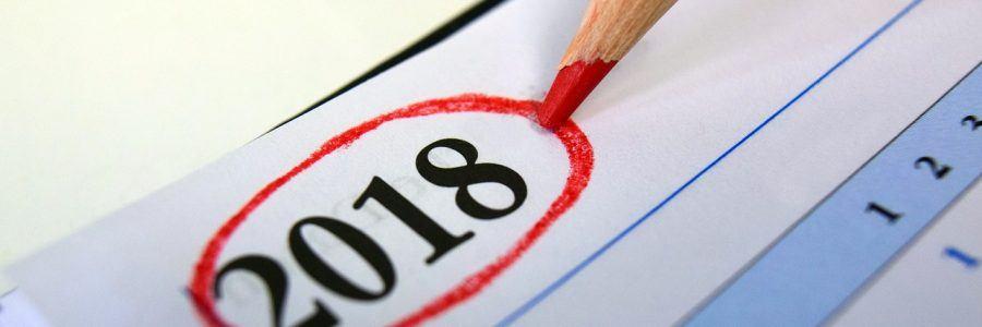 Agenda para el 2018
